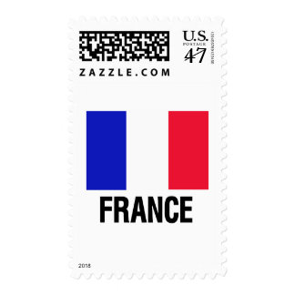 French Flag Postage