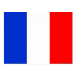 French Flag Postcard