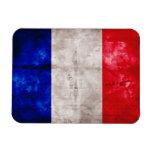 French Flag Rectangular Magnet
