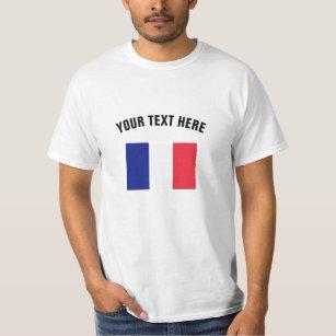 French flag t shirts | Custom France merchandise