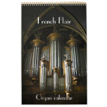 French Flair - Organs of France calendar