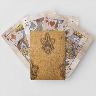 French Fleur De Lis NOLA Bicycle® Playing Card Card Deck
