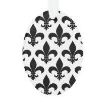 French fleur de lis Pattern Parisian Design Ornament