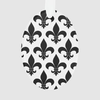 French fleur de lis Pattern Parisian Design Ornament