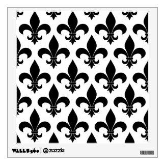 French fleur de lis Pattern Parisian Design Room Graphic
