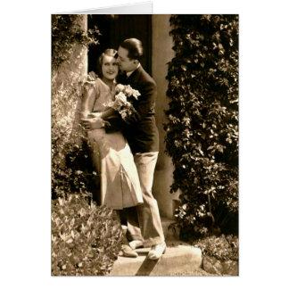 French Flirt  - Romantic Vintage Card