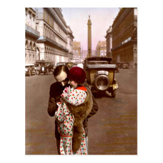 French Flirt - Romantic Vintage Love Post Card