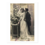 French Flirt - Vintage Romantic Love Postcard