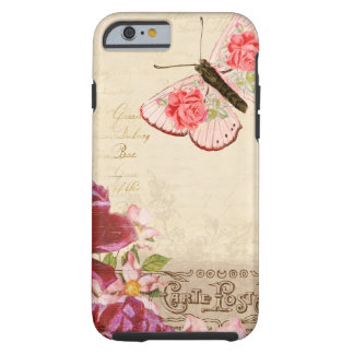 French Floral Carte Postale iPhone 6 Case