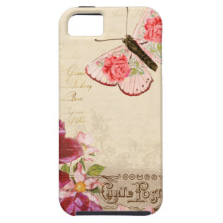 French Floral Carte Postale iPhone SE/5/5s Case