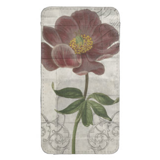 French Floral I Galaxy S4 Pouch