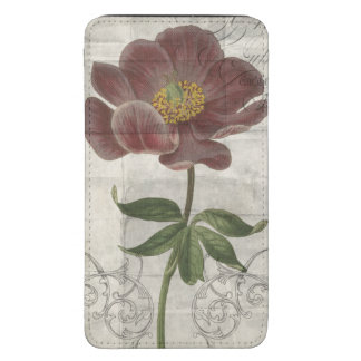 French Floral I Galaxy S5 Pouch