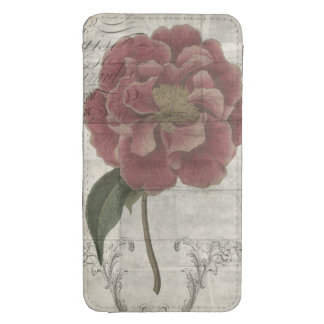 French Floral III Galaxy S4 Pouch