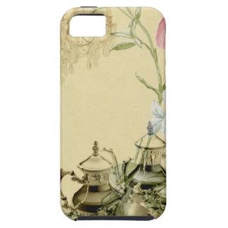 French floral Teacup Teapot Paris Tea Party iPhone SE/5/5s Case