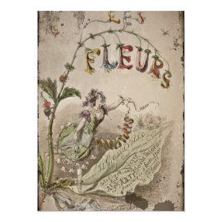 French Flower Fairy Card