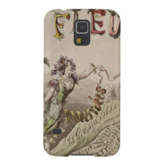 French Flower Fairy Galaxy S5 Case