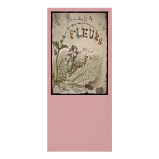French Flower Fairy Rack Card