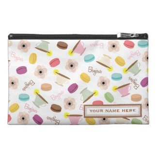 French Food Personalized Travel Accessory Bag