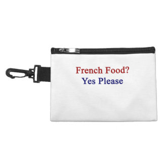 French Food Yes Please Accessory Bag