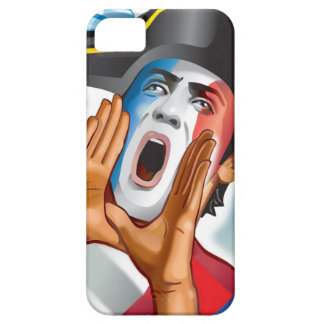 French Football Fan Reaction iPhone 5 Case