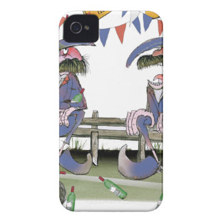 french football pundits iPhone 4 Case-Mate case