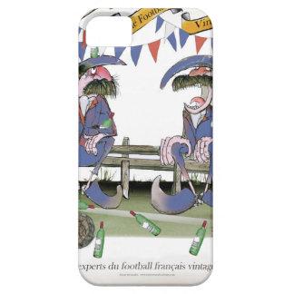 french football pundits iPhone SE/5/5s case