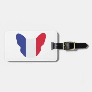 French Frenchie Luggage Tag