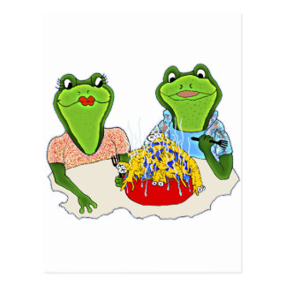 French Fried Centipedes Postcard