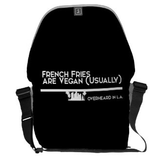 French Fries are Vegan Bag