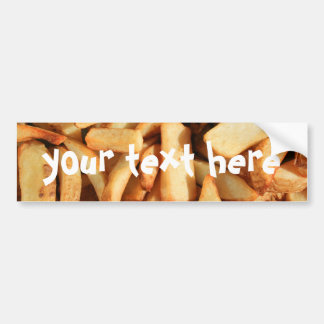 French Fries bumper sticker Car Bumper Sticker