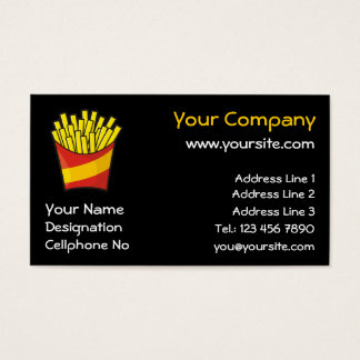 French Fries Business Card