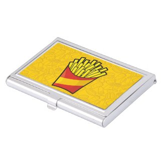 French Fries Business Card Holder