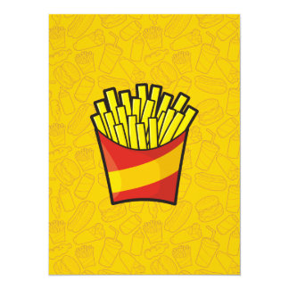 French Fries Card