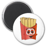 French Fries Cartoon Fridge Magnets