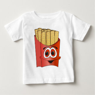 French Fries Cartoon Infant T-shirt