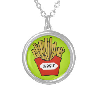 French fries custom necklace