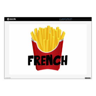 French Fries Decal For Laptop