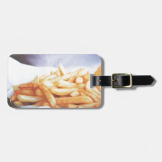 French Fries Delicious Tag For Bags