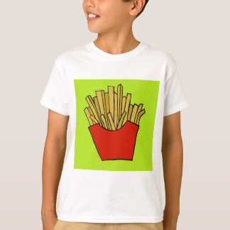 French fries design T-Shirt