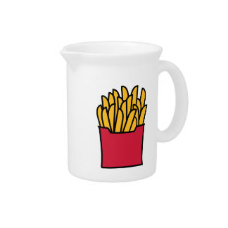 French fries drink pitcher