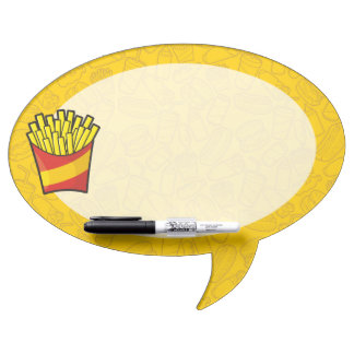 French Fries Dry-Erase Whiteboard