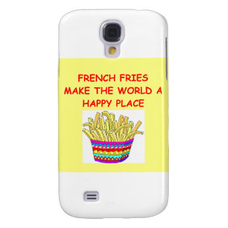french fries galaxy s4 cover