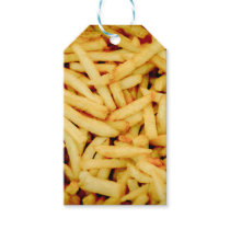 French Fries Gift Tags