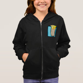French Fries Girls Hoodie