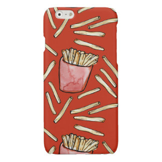 French Fries Glossy iPhone 6 Case