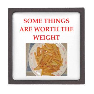 french fries jewelry box