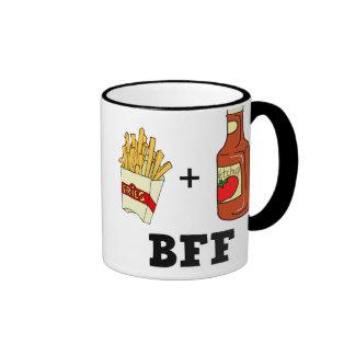 French fries & Ketchup BFF Coffee Mug