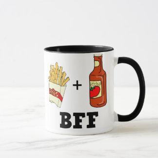 French fries & Ketchup BFF Mug