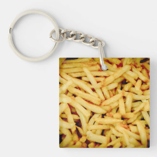 French Fries Keychain