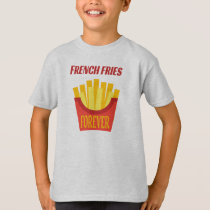French Fries Kids' Hanes TAGLESS® T-Shirt